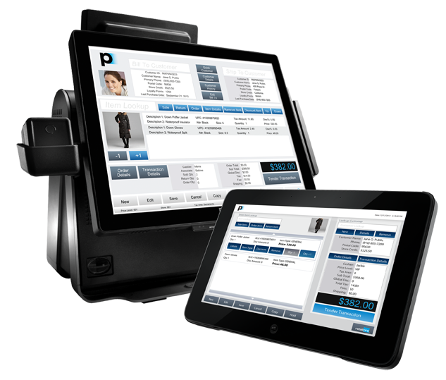 Tablet and Mobile using Retail Pro Prism POS Software