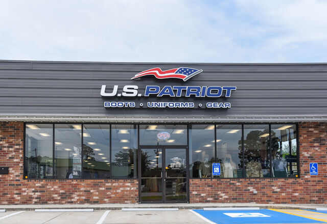 US Patriot store front
