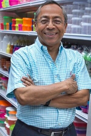Store owner, older man