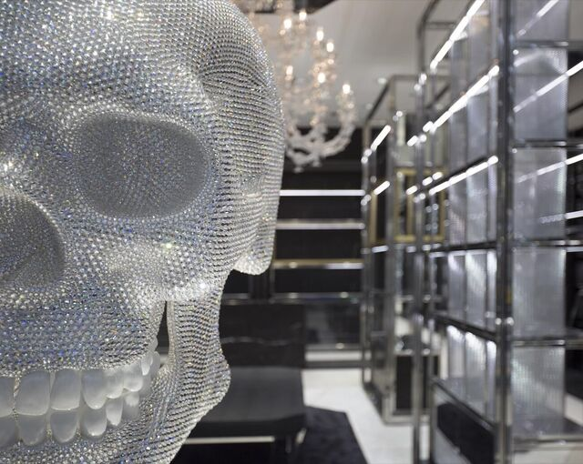 Fancy crystal skull